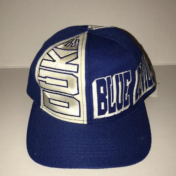 a64e21a8600 Vintage Duke University Blue Devils SnapBack. M 5a6d7c278af1c579c94e69b9